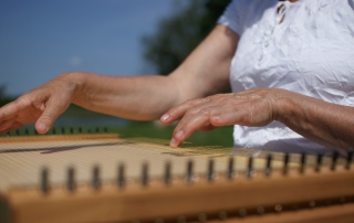"""Seminar """"Geheimnis Monochord"""" bei Ma Mer."""